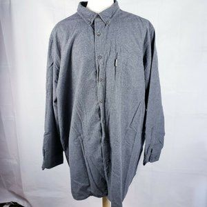 Mens Woolrich Button Down Cotton Long Sleeve Shirt